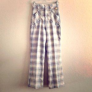 NWT Vintage Plaid Pants